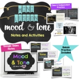 Mood and Tone Mini Lesson Notes and Activities for Middle