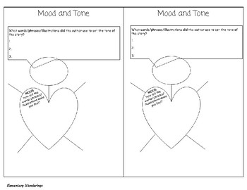 Mood and Tone Notebook Organizer