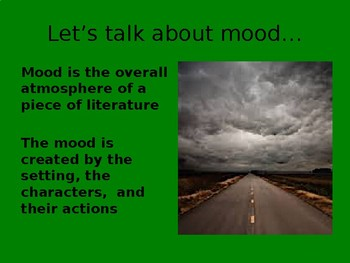 Mood and Tone PTA Skills Bundle
