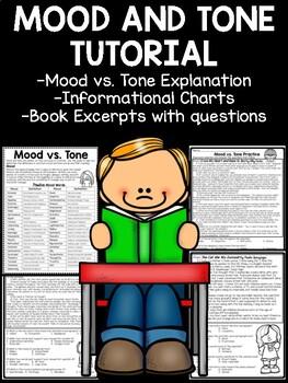 Mood and Tone Practice, Set 4, Middle School ELA Test Prep
