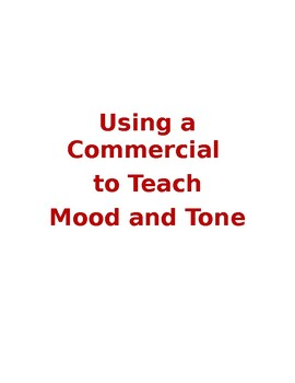 Mood and Tone Using a State Farm Commercial