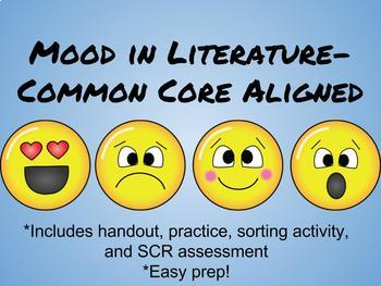 Mood in Literature-Common Core Aligned!
