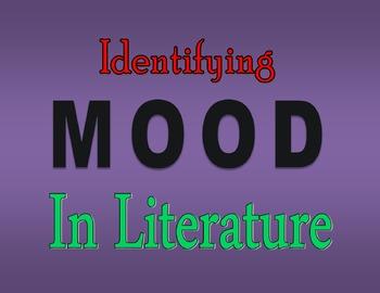 Mood in Literature Graphic Organizer
