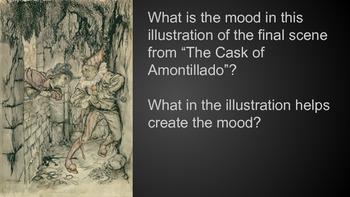 """Mood in """"The Cask of Amontillado,"""" Exit Ticket"""