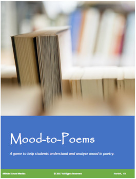 Mood-to-Poems Game