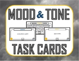 Mood versus Tone Task Cards