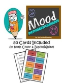 Mood/Emotion Pictionary or Charades Set with 80 Different Cards