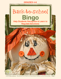Back-to-School Bingo:  A Fall Activity + Free Online Tool