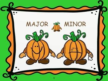 Moody Pumpkins - A Major/Minor Listening Activity