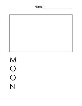 Moon Acrostic Poem