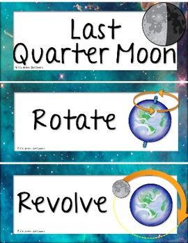 Moon Activities BUNDLE