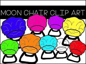 Moon Chair Clip Art
