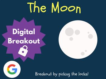 Moon - Digital Breakout! (Escape Room, Scavenger Hunt)