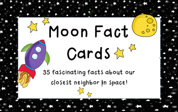 Moon Fact Cards