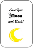 Moon Facts Mother's Day Card