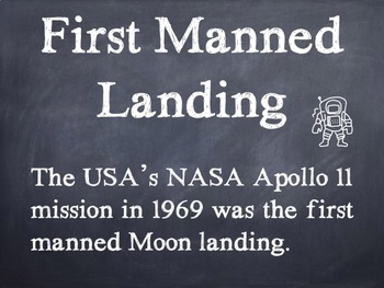 Moon Facts PowerPoint