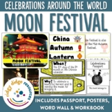 Moon Festival (Mid-Autumn Festival) Posters, Word Wall and Student Workbook
