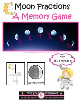 Moon Fractions (Common Core & NGSS)