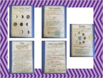 Moon Interactive Book