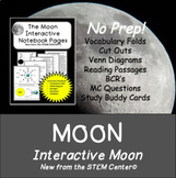 Moon Interactive Science Notebook - Distance learning Friendly
