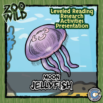 Jellyfish - 15 Zoo Wild Resources - Leveled Reading, Slides & Activities