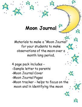 Moon Journal {Moon Tracker}