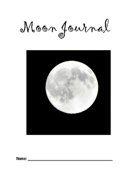 Moon Journal - Write about your observations!