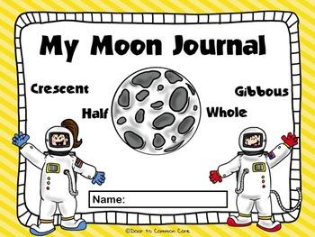 Moon Journal w/ Parent Letter (10 Days)