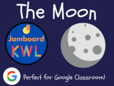 Moon - KWL Charts for Jamboard (Distance Learning, Google