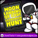 Apollo 11 Moon Landing Anniversary Activities (QR Codes Scavenger Hunt)