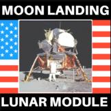 Moon Landing Lunar Module STEM