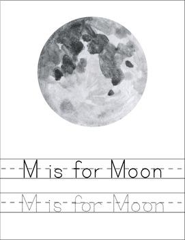 image regarding Moon Printable called Moon Mastering Printable Pack