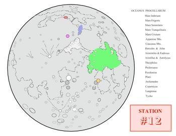 Moon Maps 3 SURFFDOGGY