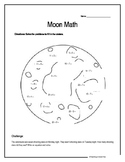 Moon Math- adding and subtracting