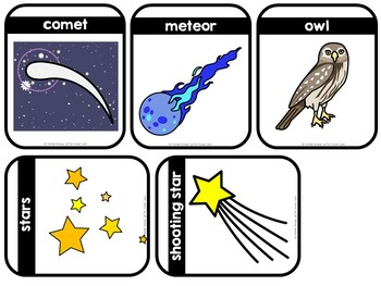 Moon, Moon, What Do You See? - Adapted Interactive Book (SPED, Autism)