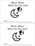 Moon Moon What Do You See Emergent Reader Space for Kindergarten