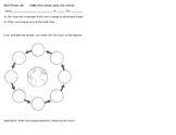Oreo Moon Phase lab sheet
