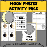 Moon Phase Activity Pack and Vocabulary Posters
