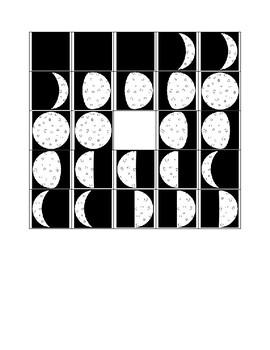 Moon Phase Bingo