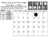 Moon Phase Calendar Cut and Paste Practice- how long is each Moon phase?