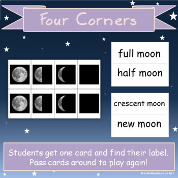 Moon Phase Matching Games
