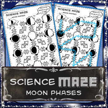 Science Maze Moon Phases