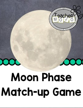 Moon Phase Match-Up Game (Printable)