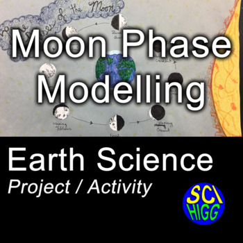 Moon Phase Modelling Activity - Astronomy / Earth FREE