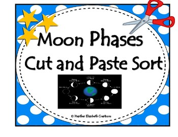Moon Phase Sort (cut and paste)