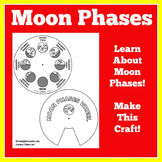 Moon Phases | 1st 2nd 3rd 4th 5th Grade | Phases of the Mo
