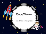 Moon Phases 2 worksheets and a PPT