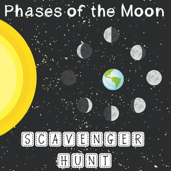 Phases of the Moon Scavenger Hunt
