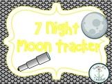 Moon Phases 7 Night Tracker