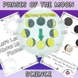 Moon Phases Nonfictional Text and Craft Project